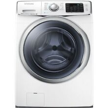 Samsung WF45H6300AW Energy Star 4 5 Cu  Ft  Front Load Steam Washer