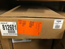 Wolf 812601 30  Professional Stainless Steel Warming  Drawer FrontPanel E Series