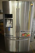 Samsung 36  Stainless Steel French Door Refrigerator RF28HFEDBSR