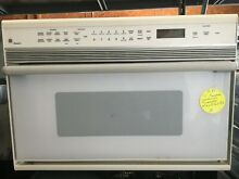 Built In Microwave Convection Oven GE White Model  ZMC1090WV In Good Condition