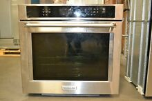 KitchenAid KOSE500ESS 30  Single Wall Convection Oven   Stainless Steel