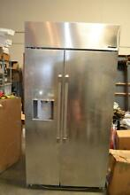 Dacor Discovery 42 Inch 25 6 cu  ft  Capacity Built In Refrigerator DYF42BSIWS