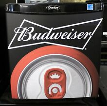 Danby Budweiser Beer Compact Refrigerator 1 6 CF DCR016A3BBUD5 MSRP  189 00