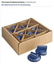 THERMADOR PRO KNOB SET blue PAKNOBLUNG FOR RANGES  see pic