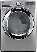 LG DLEX3370V 7 4 Cu ft  Ultra Large Capacity SteamDryer Electric Dryer