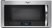 Whirlpool WMH73521CS 2 1 cu  ft  Over the Range Microwave w Steam Sensor Cooking