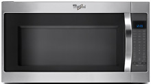 Whirlpool WMH53520CS 2 0 cu  ft  Over the Range Microwave Oven w Steam Cooking