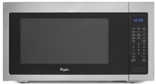 Whirlpool WMC50522AS 2 2 cu  ft  Countertop Microwave w 1 200 Watts SxSteel