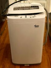 Haier HLP24E 1 5 Cu  ft  Portable Washer with Stainless Steel Drum and Pulsator