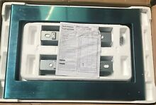 Open Box GE JX9152SJSS Stainless Steel 27  Microwave Trim Kit   Free Shipping