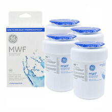 GE MWF SmartWater MWFP GWF HWF WF28 Comparable Refrigerator Water Filter 4 PACK