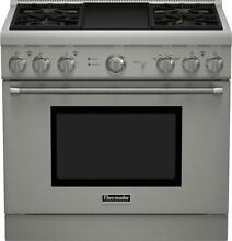 Thermador PRG364GDH Pro Harmony Series 36 Inch Gas Freestanding Range