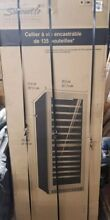 NEW Danby Silhouette 24  Dual Zone 129 Bottle Stainless Wine Refrigerator Cooler
