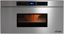 Dacor Heritage 30  Microwave Drawer with 950 Watts Stainless Steel RNMD30S