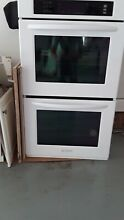 Kitchenaid Double Electric Wall Oven 30  White  Open Box Never Used NEW