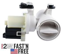 Front Load Washer Drain Pump Motor Whirlpool Duet Kenmore HE2 Maytag MHWZ400TQO2