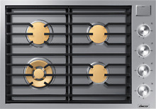 Dacor DTG30M954FS Modernist 30 Inch Gas Cooktop with iQ Kitchen stainless steel