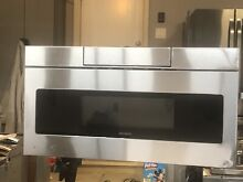 SMD3070AS SHARP STAINLESS STEEL MICROWAVE DRAWER OVEN Dent Only Local Pickup