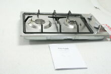 Ramblewood High Efficiency 2 Burner Gas Cooktop Gas GC2 43N Electric Ignition
