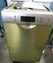 NEW Bosch 800 Series SPE68U55UC 37 18  Full Console Stainless Steel Dishwasher