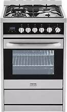 Haier 24 Inch Dual Fuel Range with European Convection   HCR2250ADS