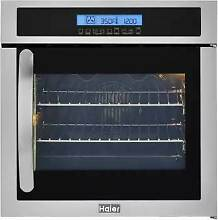 Haier 24 Inch Wall Oven with European Convection   HCW225RAES