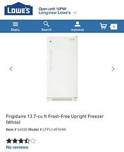 Frigidaire 13 7 cu ft Deep Freezer