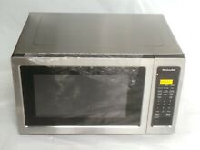 KitchenAid KMCS1016GSS 1 6 CF 1200W Stainless Steel Sensor Cooking Microwave D22