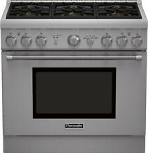 Thermador PRG366GH Pro Harmony Series 36 Inch Gas Freestanding Range _SS