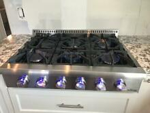 Thor Kitchen HRT3618U 36 Inch Wide Built In Gas Rangetop with Automatic Re Ignit