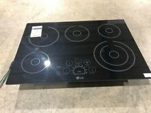 LG LCE3010SB 30 in  Smooth Surface Electric Cooktop