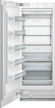 Thermador T30F800SP Freedom Collection 30  BuiltIn Freezer Column Panel Ready LH