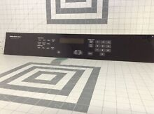 Genuine Jenn Air Built In D Oven Touchpad Control Panel 71001873