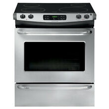 Frigidaire FFES3025PS   30in Slide In Electric Range   LOCAL PICK UP