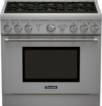 PRG366GH THERMADOR 36  GAS RANGE 6 BURNER STAINLESS STEEL NEW IN BOX
