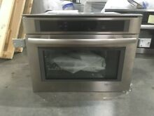 JBS7524BS  JENNAIR 24  STEAM AND CONVECTION WALL OVEN DISPLAY MODEL
