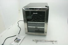 NewAir AW 121E 12 Bottle Thermoelectric Wine Cooler 54 66 Degrees F w Blue LED