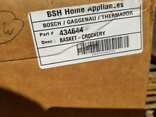 Bosch 434644 Dishwasher Lower Dishrack Drawer Basket   Crockery New open Box