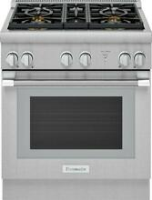30  Thermador SS Pro Harmony Gas Range Model   PRG304WH