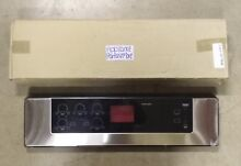 LG RANGE COOKTOP STAINLESS CONTROL PANEL PART NUMBER  ACM32655301 NEW