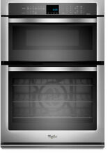 Whirlpool WOC95EC0AS 30 Inch Microwave Combination Wall Oven FREE SHIPPING