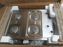 Whirlpool W3CG3014XS 30 in Stainless Steel Gas Cooktop