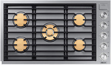 Dacor DTG36M955FS Modernist 36 Inch Smart Gas Cooktop 5 Burners in Stainless