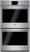 Bosch 500 Series  HBL5651UC 30  Double Electric Wall Oven Stainless Steel