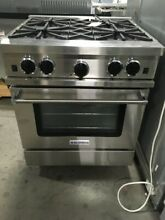 RCS304BV2LP BLUESTAR CULINARY SERIES 30  LP GAS RANGE NEW OUT OF BOX