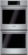 Bosch HBN8651UC 800 Series 27 Inch Double Electric Wall Oven in Stainless Steel