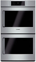 Bosch Benchmark Series 30  Double Electric Wall Oven Stainless Steel  HBLP651RUC