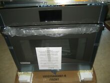 GE PROFILE  30  WALL OVEN PTS7000SNSS TRUE CONVECTION SELF CLEANING