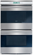 Wolf E Series DO30 2U S TH 30  Double Electric Wall Oven Stainless Steel