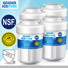 4 PCS Compatible With GE MWF RWF1060 MWFP Refrigerator Water Filter